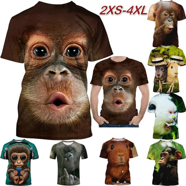 Summer, Funny T Shirt, Graphic T-Shirt, animal print