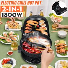 Grill, potmachine, Indoor, Capacity