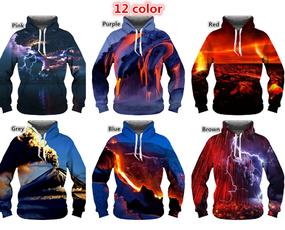 Couple Hoodies, 3D hoodies, Fashion, Necks