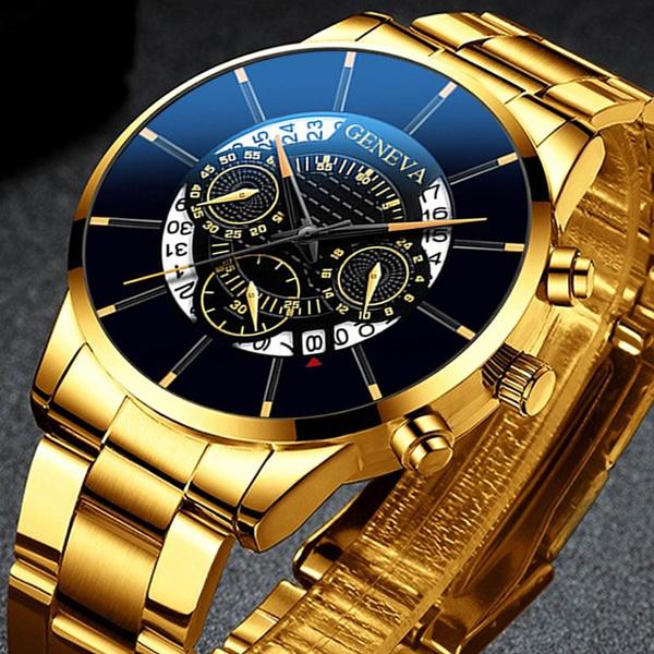 Steel, Stainless Steel, Clock, quartz watch