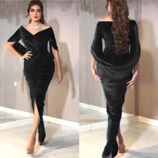 gowns, Club Dress, Plus Size, velvet