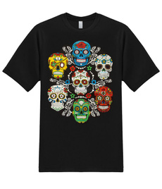 skull, Mexico, of, de