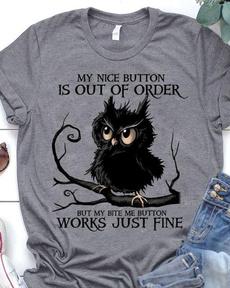 Owl, Fashion, Shirt, wishtshirt