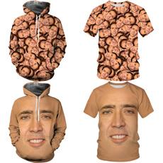3D hoodies, Fashion, nicolascage, womens hoodie
