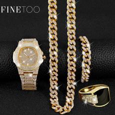 Men Jewelry, Jewelry Set, DIAMOND, Jewelry