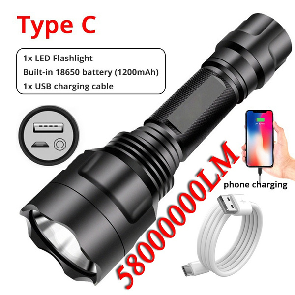 torchlight, Flashlight, Rechargeable, led