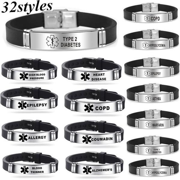 Steel, Titanium Steel Bracelet, Laser, Jewelry