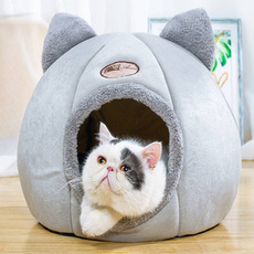 puppy, dog houses, Dogs, Pets