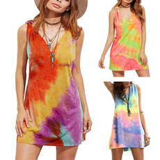 womensfahion, sleeveless, Mini, Dress