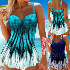 Plus Size, women swimsuit, women tankini, Swimwear
