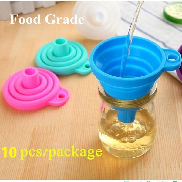 Kitchen & Dining, Silicone, siliconefunnel, Cooking
