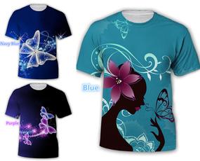 Summer, Fashion, Butterflies, Tops