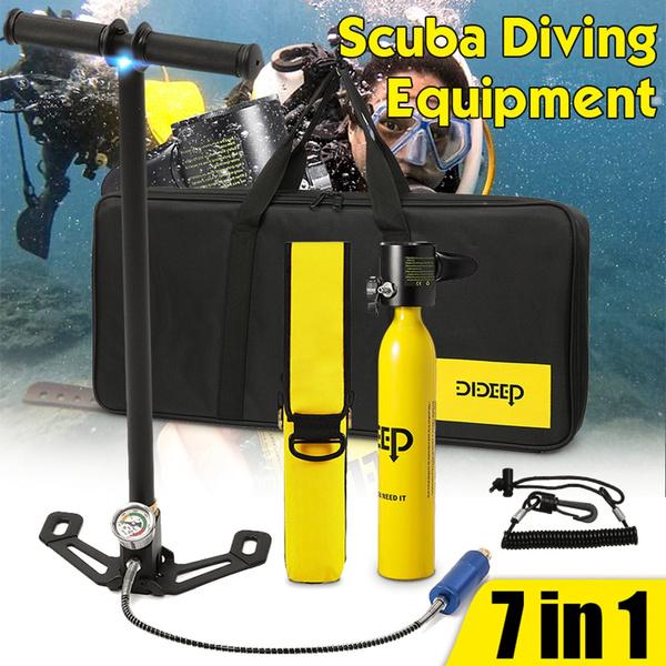 divingtank, oxygencylinder, Mini, divingequipment