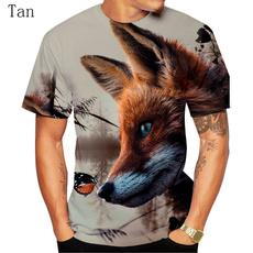 Funny T Shirt, Necks, foxtshirt, animaltshirt