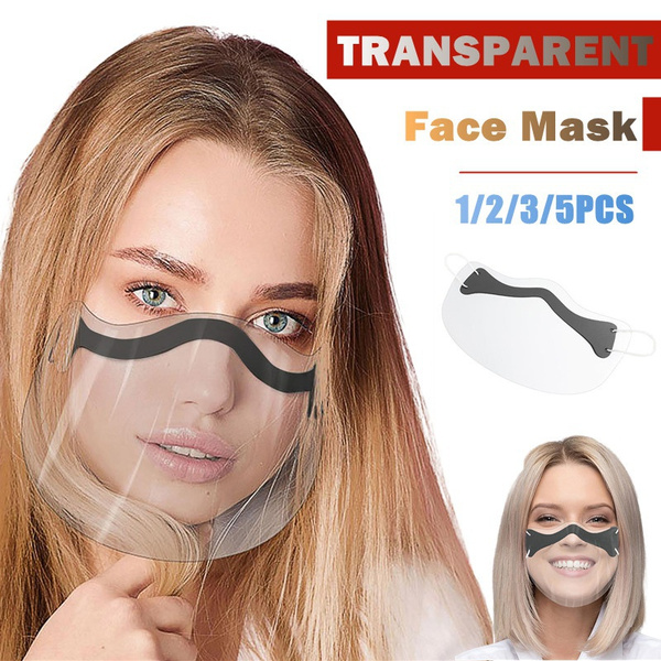 Plastic, transparentmask, Outdoor, earloopsmask
