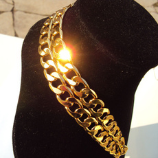 8MM, figueronecklace, 18kgoldnecklace, Jewelry