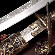 Steel, swordsandknive, foldedsteelblade, broadsword
