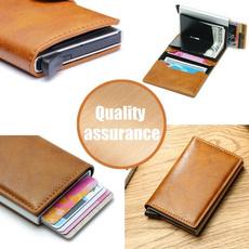 Credit Card Holder, rfidwallet, leather, Men