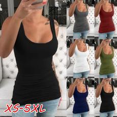 Women Vest, Plus Size, Tank, Tops