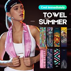 Summer, coldtowel, Outdoor, Yoga