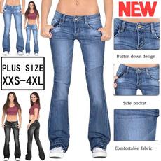 womens jeans, womenstrouser, Plus Size, momjean