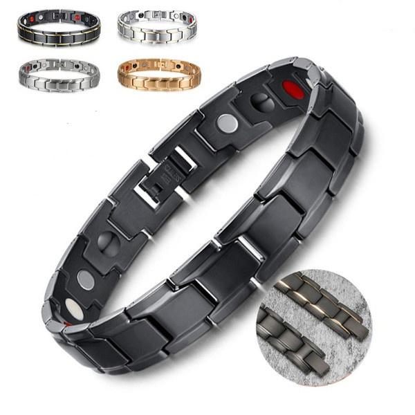 Steel, weightlossbracelet, Jewelry, energybraceletmen