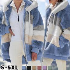fur coat, Plus Size, Winter, winter coat