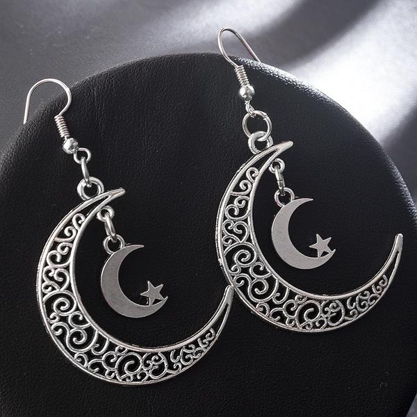 Goth, Dangle Earring, Jewelry, Earring