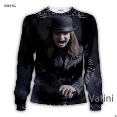 3d sweatshirt men, Funny, Fashion, Sleeve