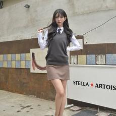 School, Spandex, Waist, Skirts