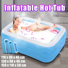 Bath, Inflatable, hottub, largerswimmingpool
