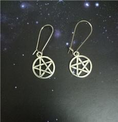 witchjewelry, Goth, Dangle Earring, steampunkearring