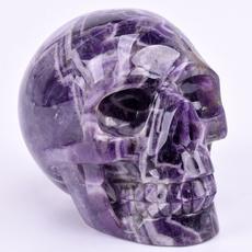 amethystskull, skull, Crystal, dreamamethyst
