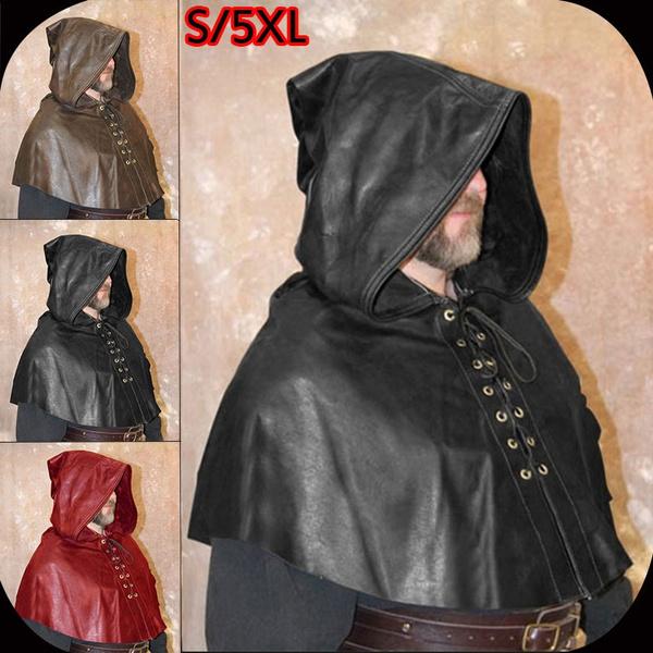 imitationleather, poncho, Medieval, renaissance