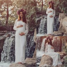 gowns, Fashion, pregnantdres, chiffon
