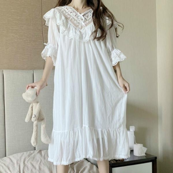 night dress, retrosleepwear, Lolita fashion, Princess