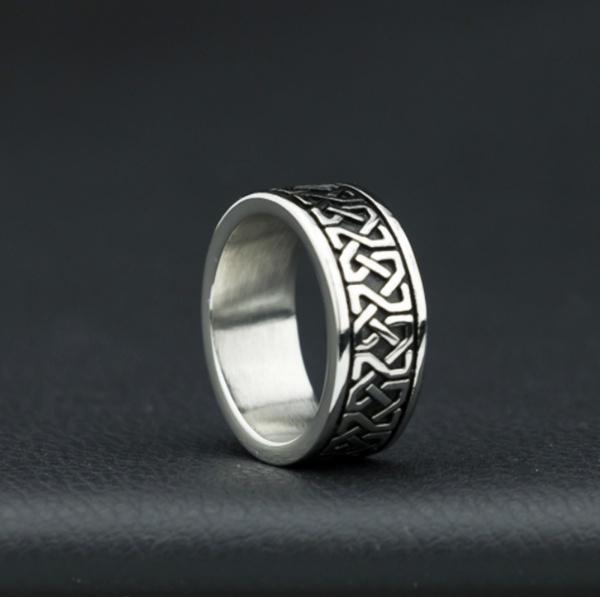 Steel, ringsformen, engravingring, patternring