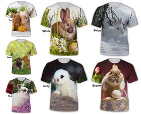 Summer, theme, Tops, 3dprintedtshirt
