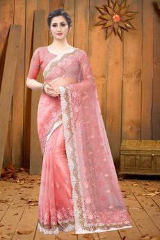 pink, blouse, Fashion, partywearsaree