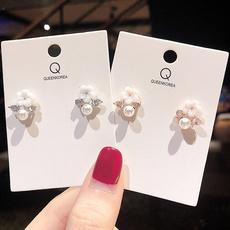 Fashion, Pearl Earrings, earringsforgirl, Simple
