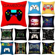 case, Throw Pillow case, Video Games, gamecontrollercushioncase