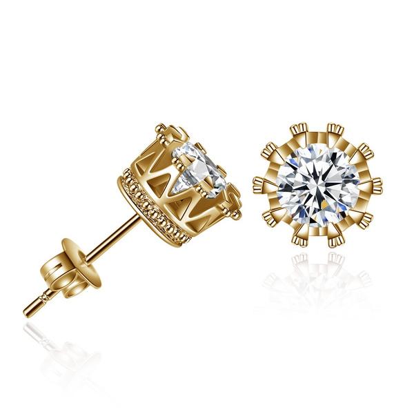 Fashion, Stud Earring, for girls, Rhinestone