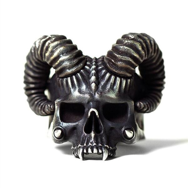 Steel, devils, Jewelry, motorcyclist