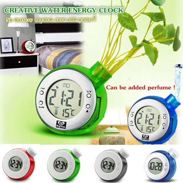 waterenergy, plantclock, Clock, Watch