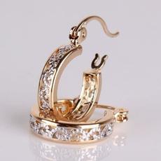 platinum, Sterling, Hoop Earring, 925 sterling silver