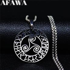 Steel, Jewelry, vikingnecklace, necklacewomenmen