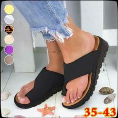 casual shoes, Flip Flops, Plus Size, Womens Shoes