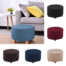 roundstoolcover, footstoolcover, pouffecover, stretch
