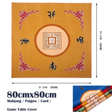 mahjongset, Yellow, mahjong, Tables