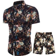 Summer, Shorts, Shirt, Bottom